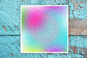Abstract background with ornament
