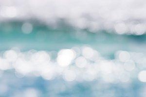 Blurry Ocean Waves