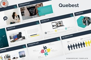 Quebest - Powerpoint Template