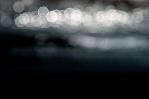 Glowing Bokeh Background