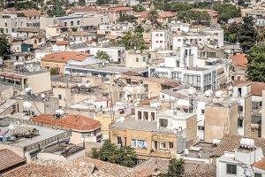 Nicosia City rooftop view