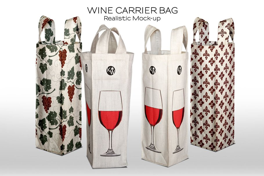 Tote Bag for Wine/Liquor