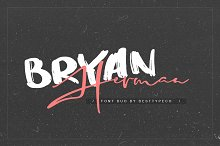 Bryan Herman FONT DUO