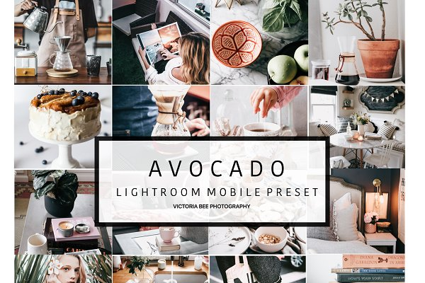 Mobile Lightroom Preset AVOCADO