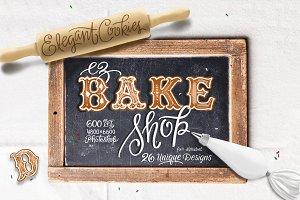 Ez Bake Shop - Cookie Lettering