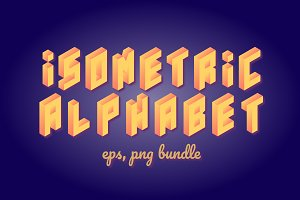 ISOMETRIC ALPHABET BUNDLE