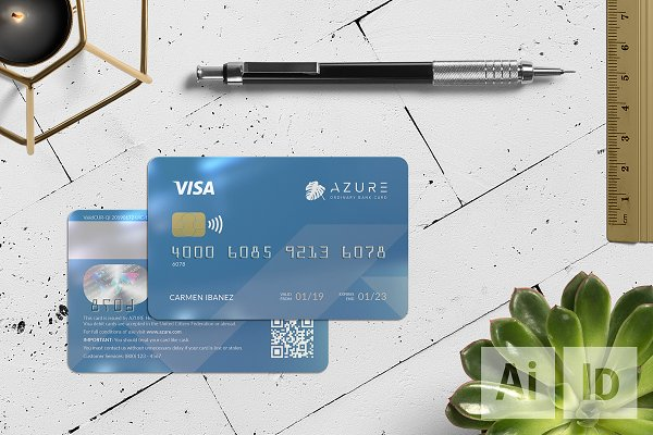 Azure Bank Card