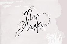 The Shaker - SVG & OTF Brush Font