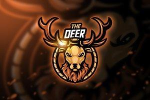 Deer - Mascot & Esport Logo