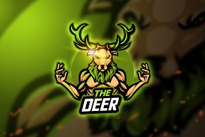 Deer two - Mascot & Esport Logo
