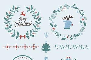 Illustration of Christmas decoration