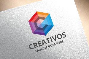 Letter C - Creativos Logo