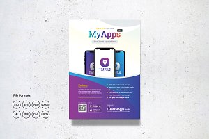Apps Promotion Flyer