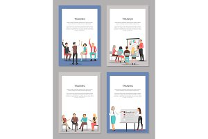 Training Set of Posters with People
