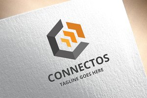 Letter C - Connectos Logo