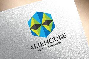 Alien Cube Logo