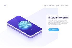 Fingerprint recognition, data