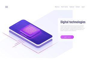 Digital technologies, data