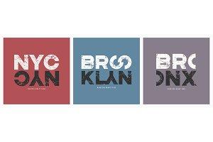 New York City stylish t-shirt and