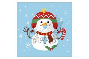 December 8: Snow Man