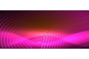 Color shiny neon lights background