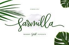 NEW FONT   Sarmilla Script