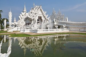Fantastic beauty the White palace in
