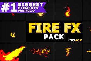 Flash FX FIRE Elements Motion Graphi