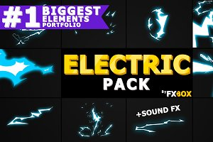 ELECTRIC Elements After Effects