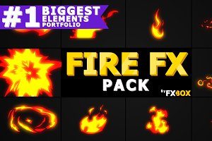 Hand Drawn FIRE Motion Graphics