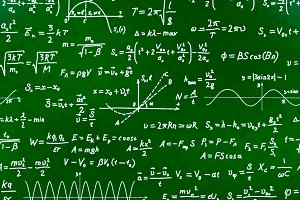 Math equations and formulas