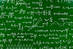 Math equations and formulas