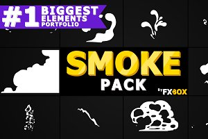Smoke Elements and Transitions AE