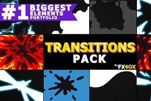 Extreme Transitions Motion Graphics