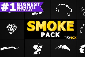 Smoke Elements Motion Graphics