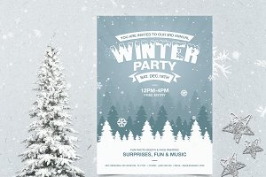 Winter Flyer + Christmas Party Flyer