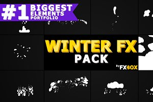 Winter Elements Motion Graphics