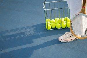 tennis attributes, balls