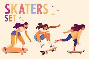 SKATERS SET