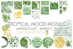 Tropical Mood Mosaic