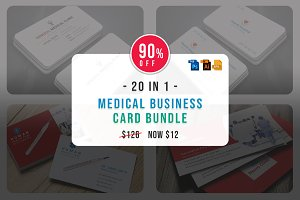 Medical Business Cards Bundle