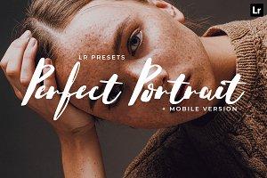 20 Perfect Portrait Lightroom Preset