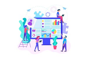 Online Internet startup, web support
