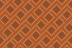 Zigzagging knitted seamless pattern