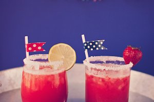 Red 4th of July Cocktails