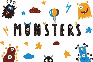 Monsters Vector clipart