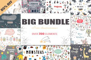 Big bundle illustrations