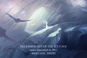 December in his cave