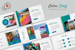 Colors - Powerpoint Template