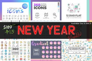 New Year Bundle Extended License!